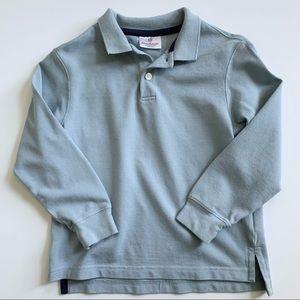 Hanna Andersson Long Sleeve Polo Shirt Boy 120